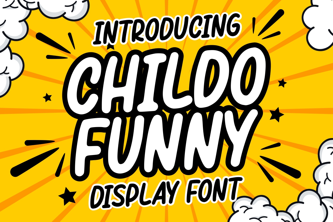 Childo || Funny Font example image 1