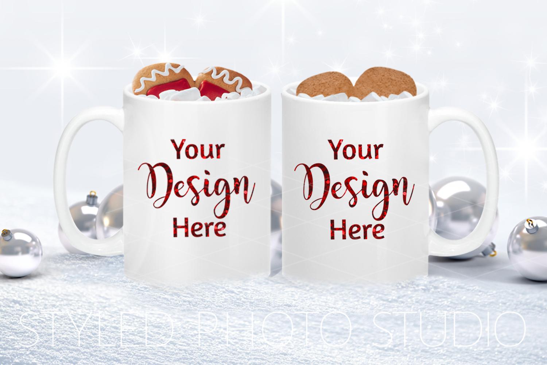 Christmas Mug Mockup Bundle, Cup Mock Up Bundle, JPG example image 4