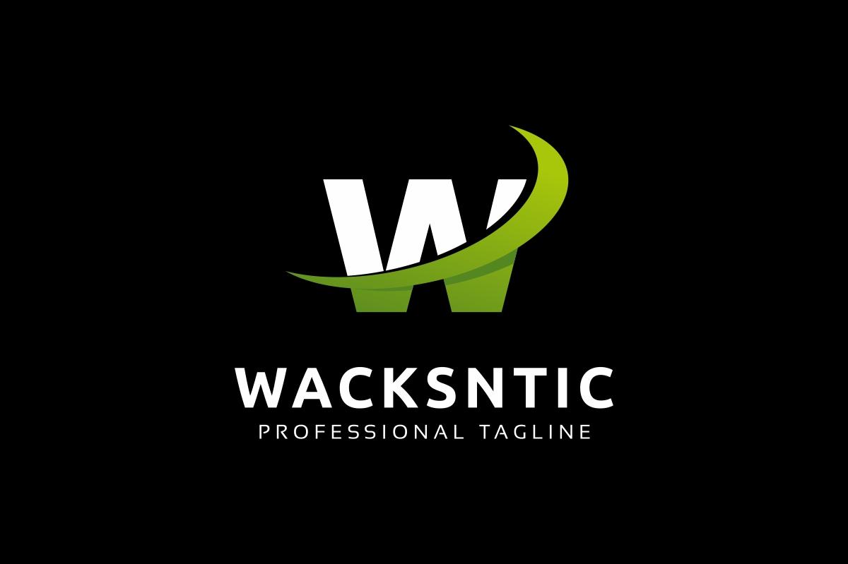 Wacksntic W Letter Logo example image 2