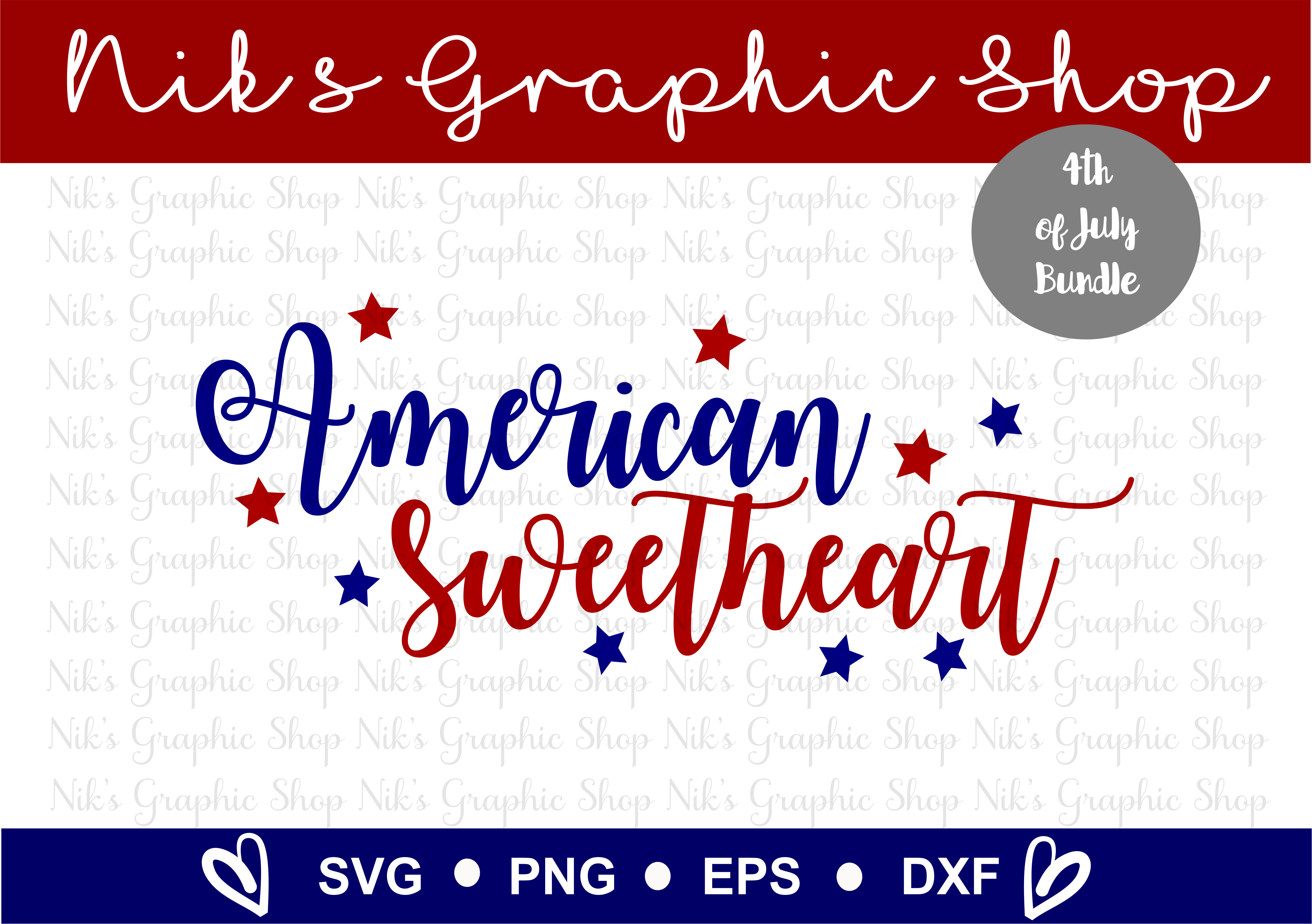 4th of July SVG, Fourth of July, July SVG, 4th SVG, Fourth example image 5