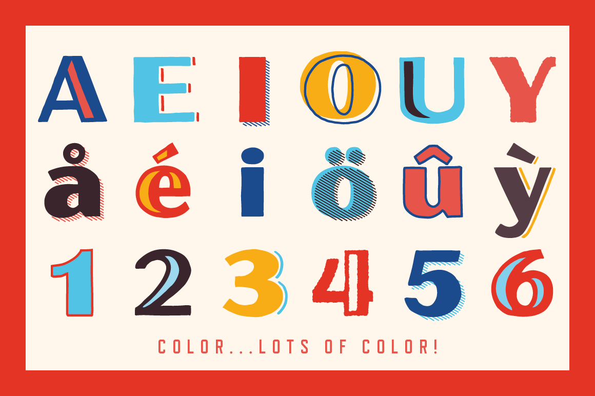 Oilvare Font Family example image 3