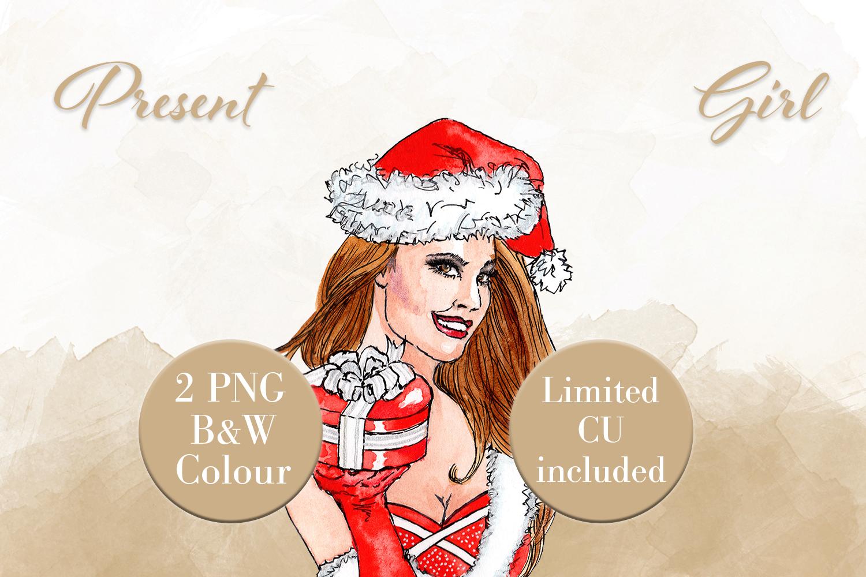 Present Girl example image 1