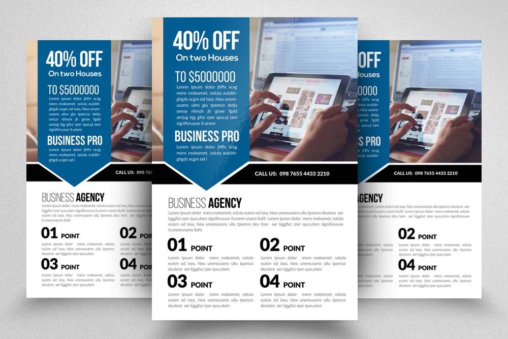 10 Multi Use Business Flyers Bundle example image 2