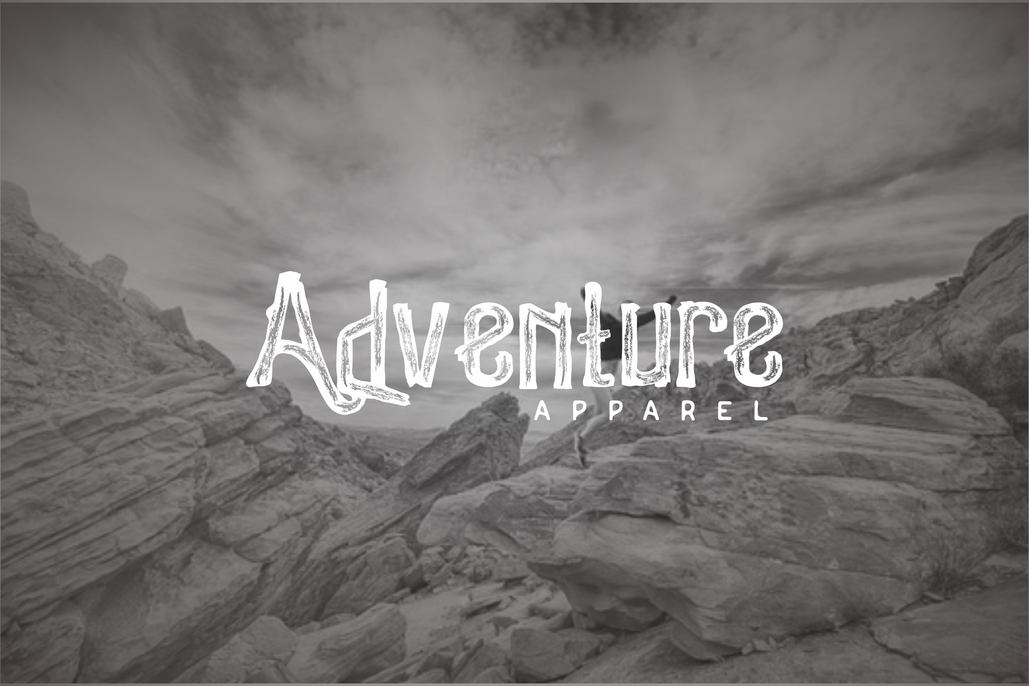 Woodystone Adventure Typeface