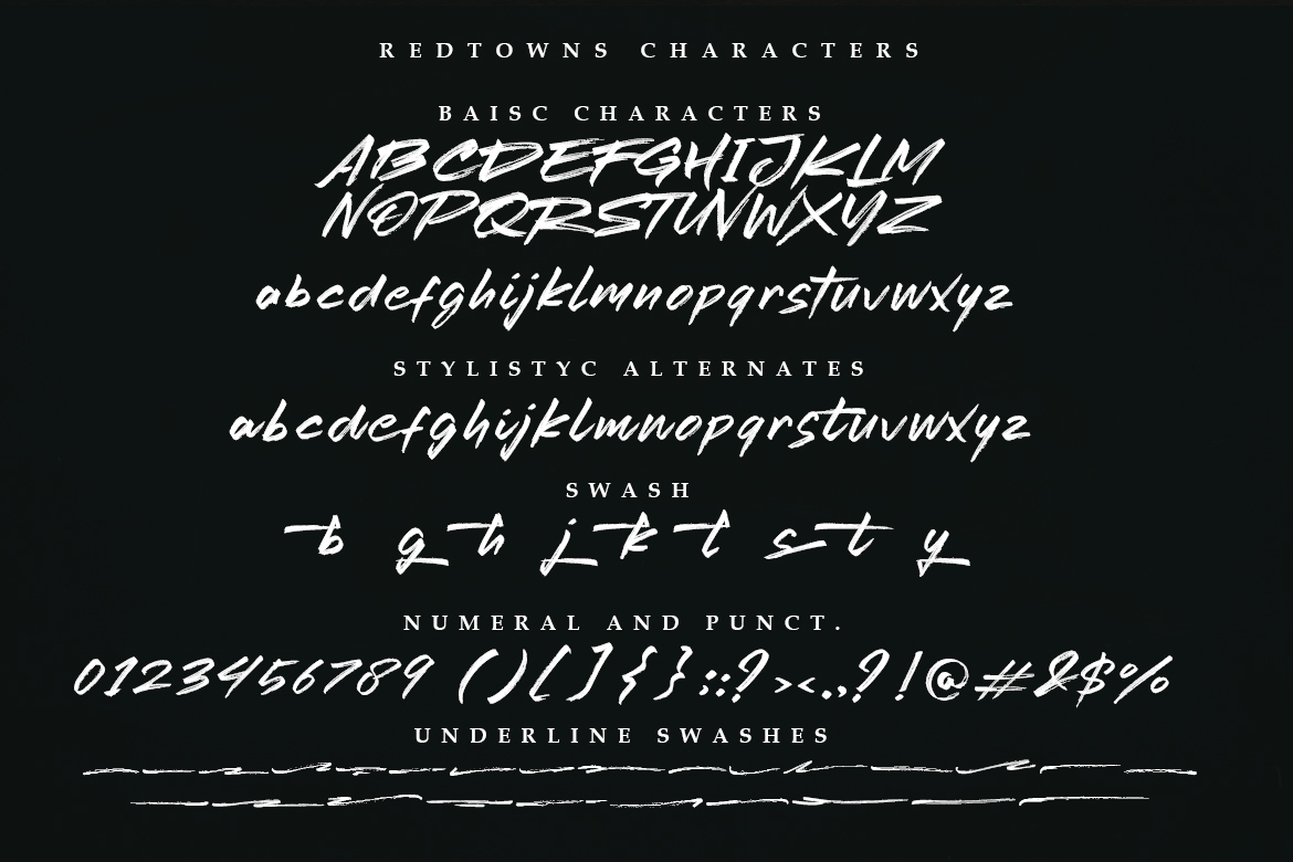 Redtowns Font example image 10
