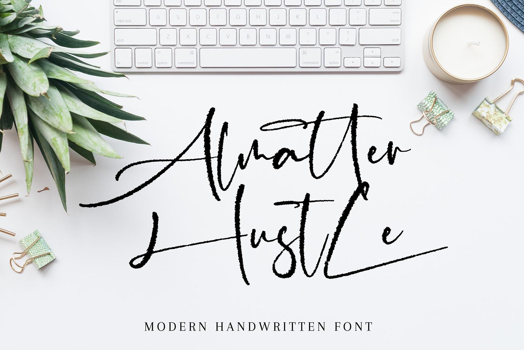Almatter Hustle example image 1