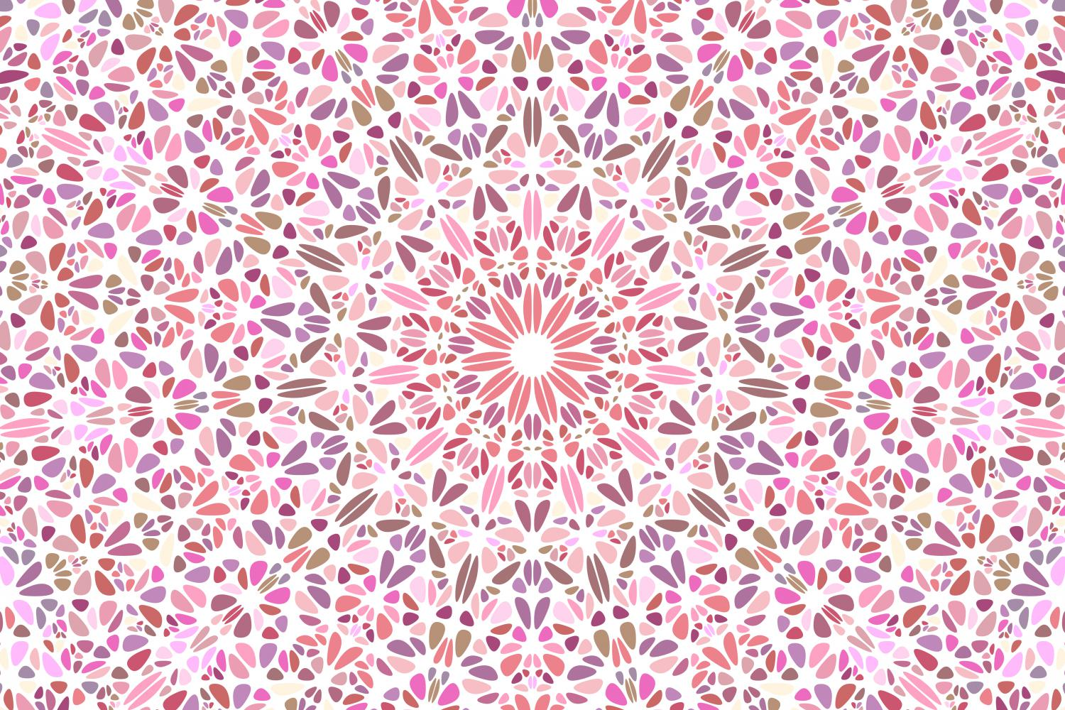 48 Floral Mandala Backgrounds example image 7