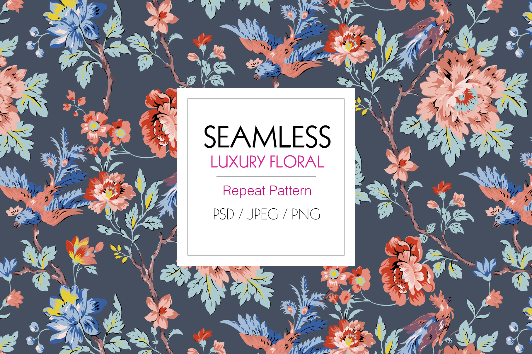Luxury Seamless Pattern example image 6