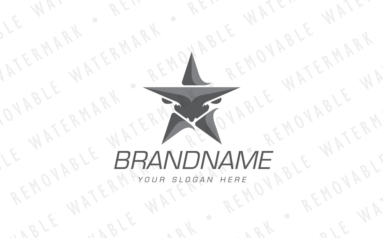 Bull Star Logo example image 4