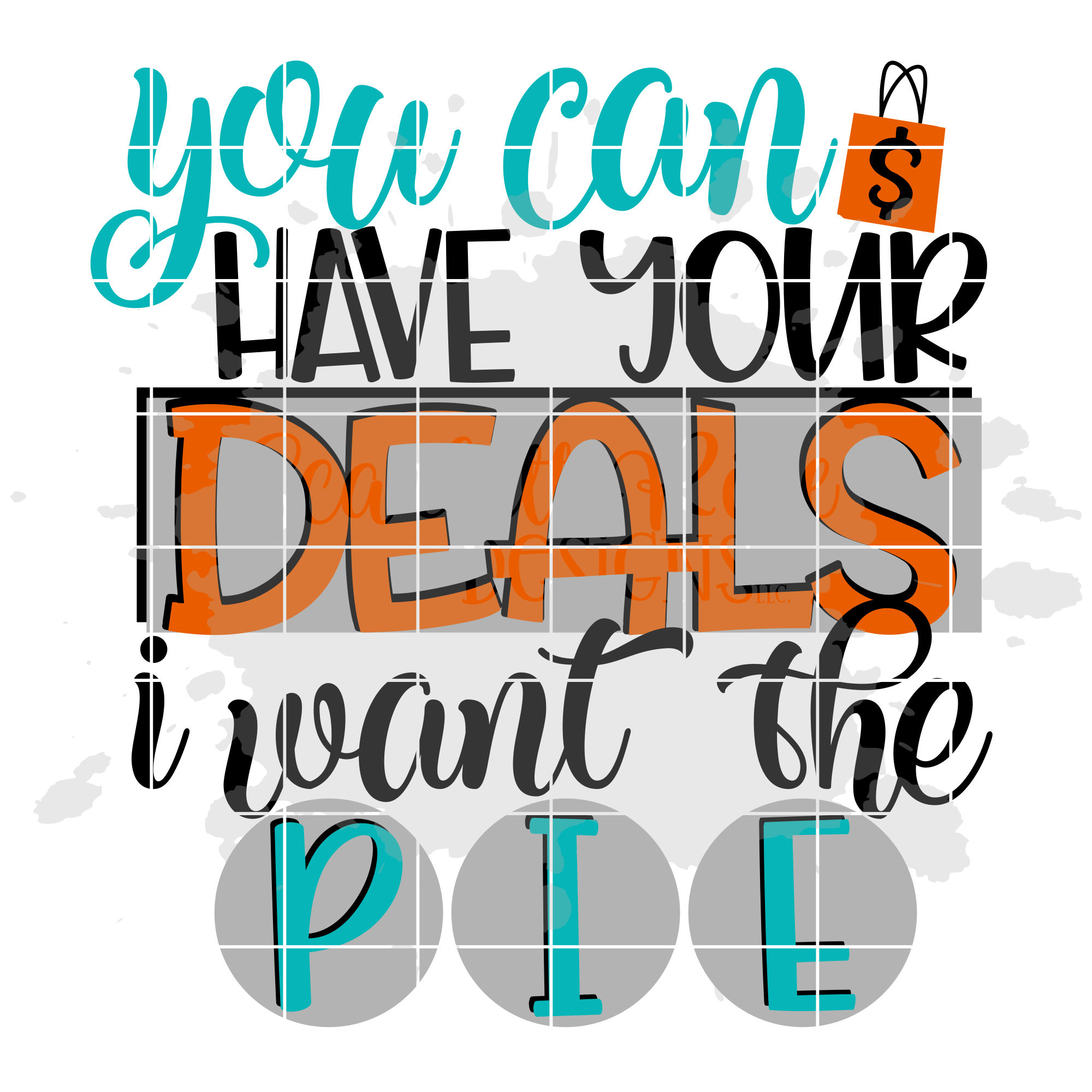 You Can Have Your Deals I Want Pie SVG - Black Friday SVG example image 2