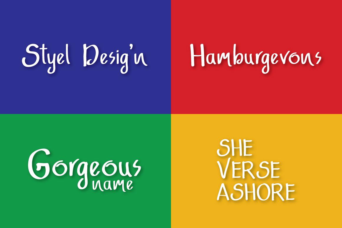 Adfonture Typeface example image 7