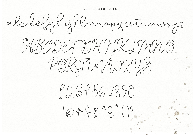 Moonwake - Handwritten Font example image 6