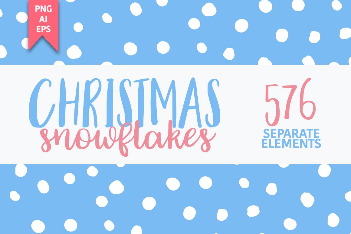 Christmas snowflakes example image 2