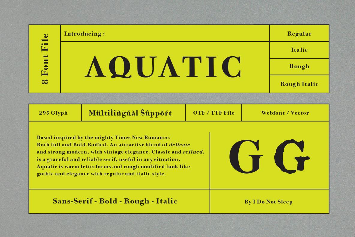 Aquatic  example image 1