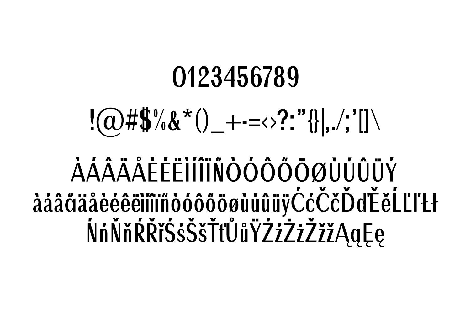 Ackley Beautiful Sans Serif Typeface example image 5