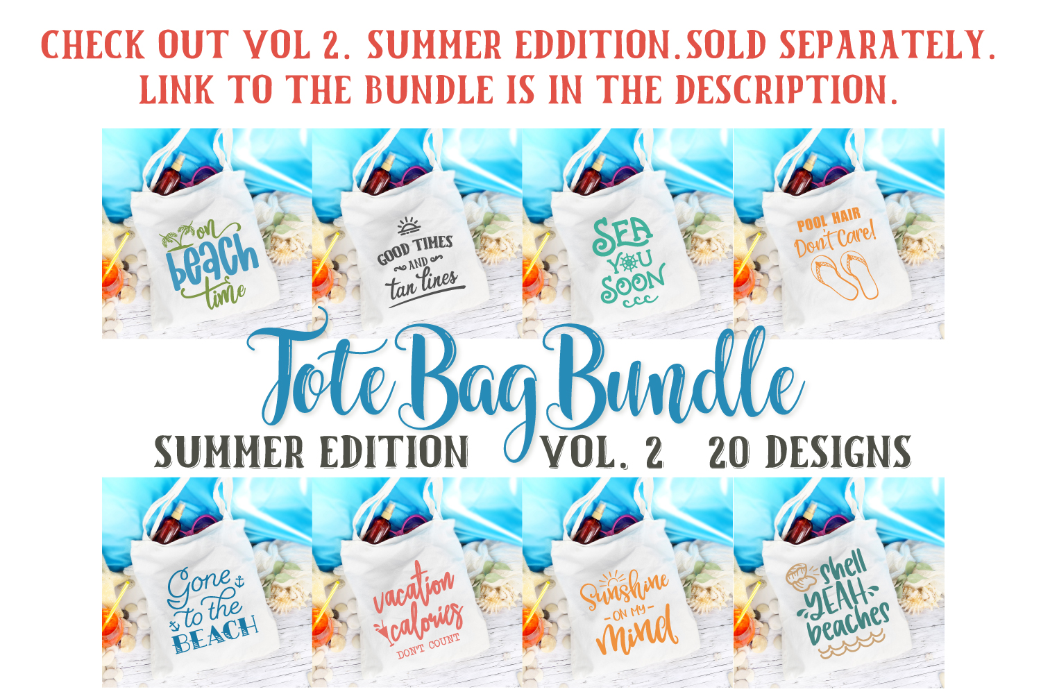 Tote Bag Quotes, Funny Sayings Bundle, Tote Bag Svg Designs example image 3