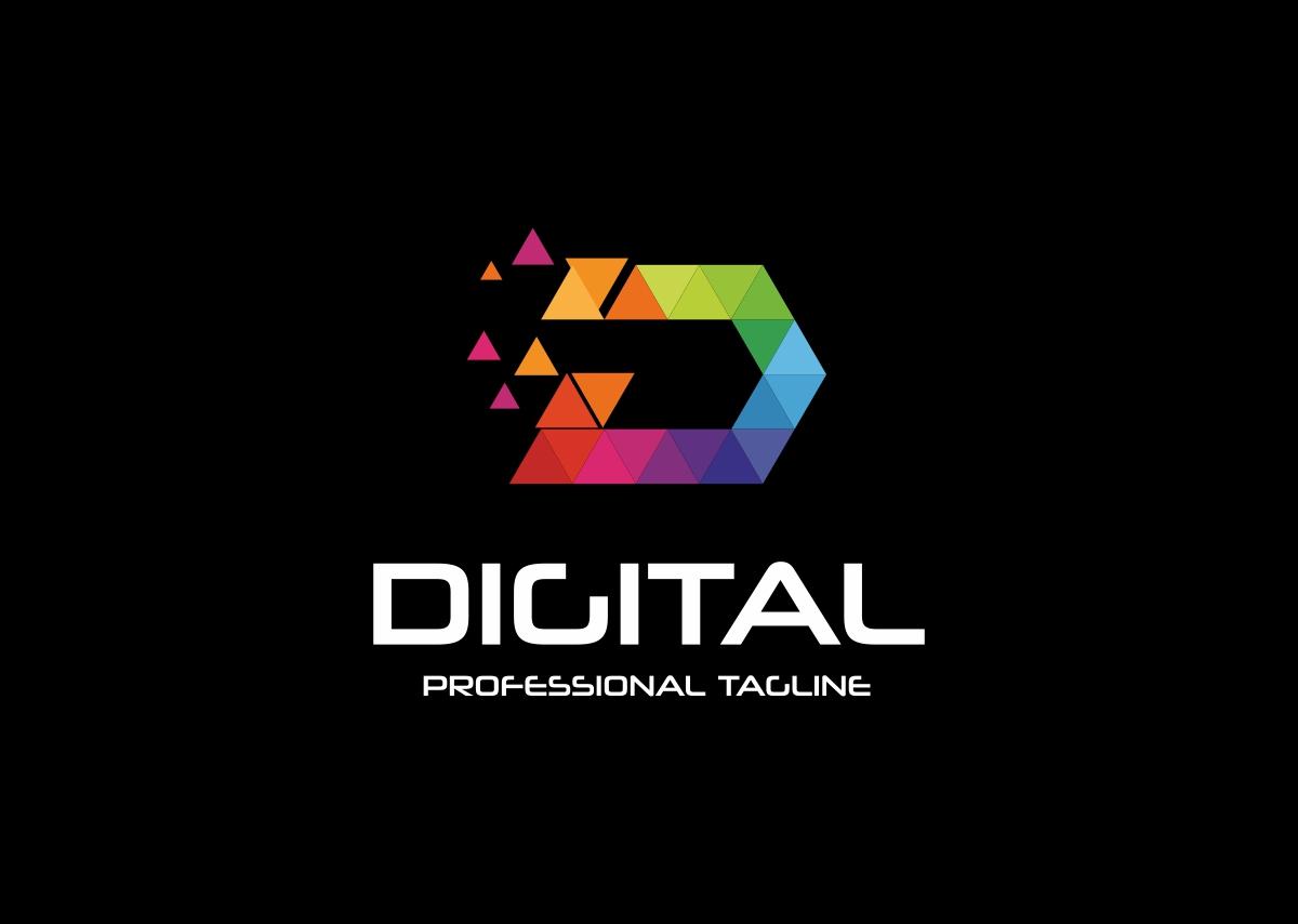 D Letter Logo (201172) | Logos | Design Bundles