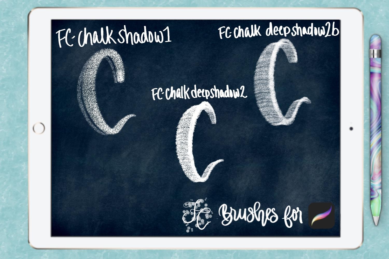 FC-chalk-set 4for PROCREATE example image 5