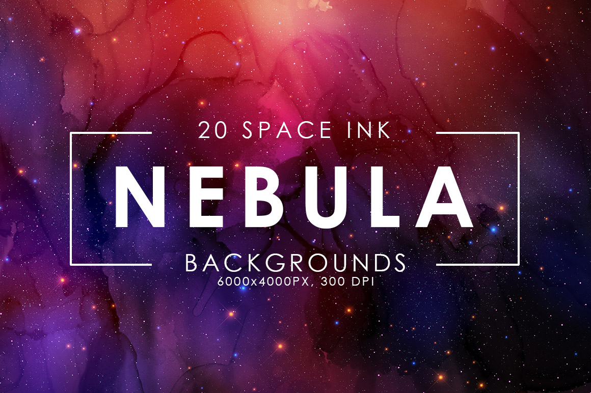 Nebula Ink Backgrounds example image 1
