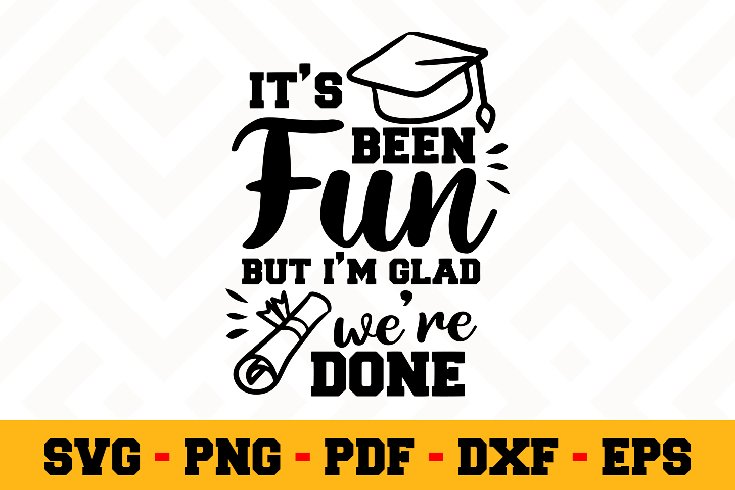 Graduation SVG Design n585 | Graduation SVG Cut File example image 1
