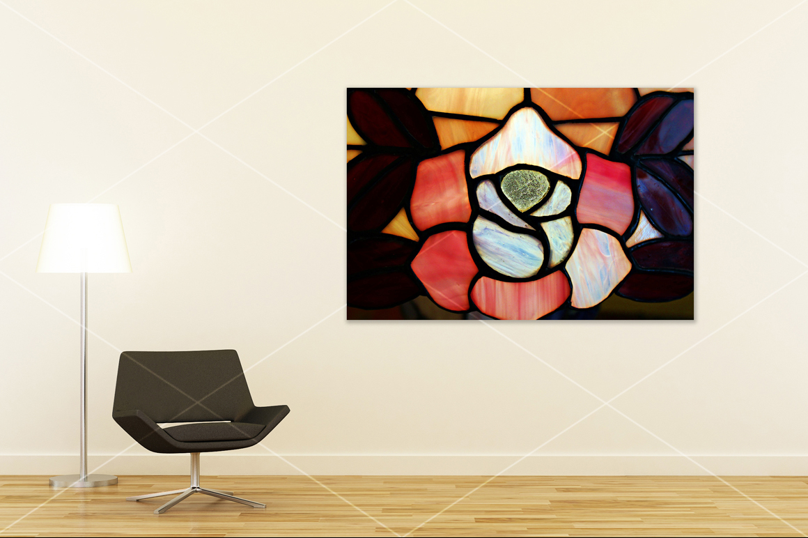 Wall art mockup V4 example image 4