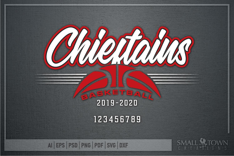 Chieftain, Basketball, Sport, Design, PRINT, CUT, DESIGN example image 5