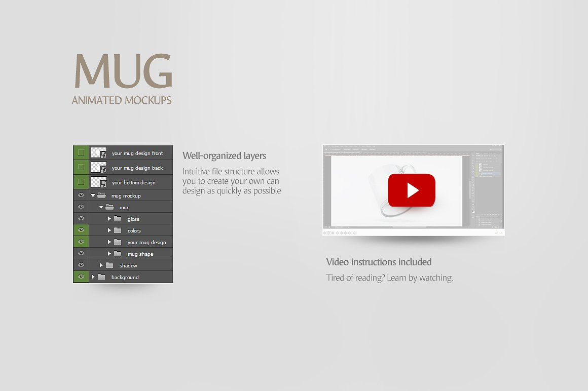 Glass Mug Animated Mockup example image 7
