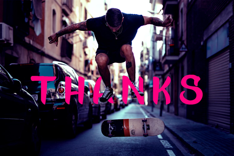 Kick Slipe Font example image 7