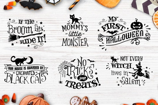 Halloween bundle 40 SVG , Eps, Dxf, Png for Cricu example image 7