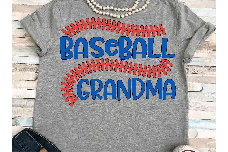 Baseball SVG DXF JPEG Silhouette Cameo Cricut Grandma svg example image 1