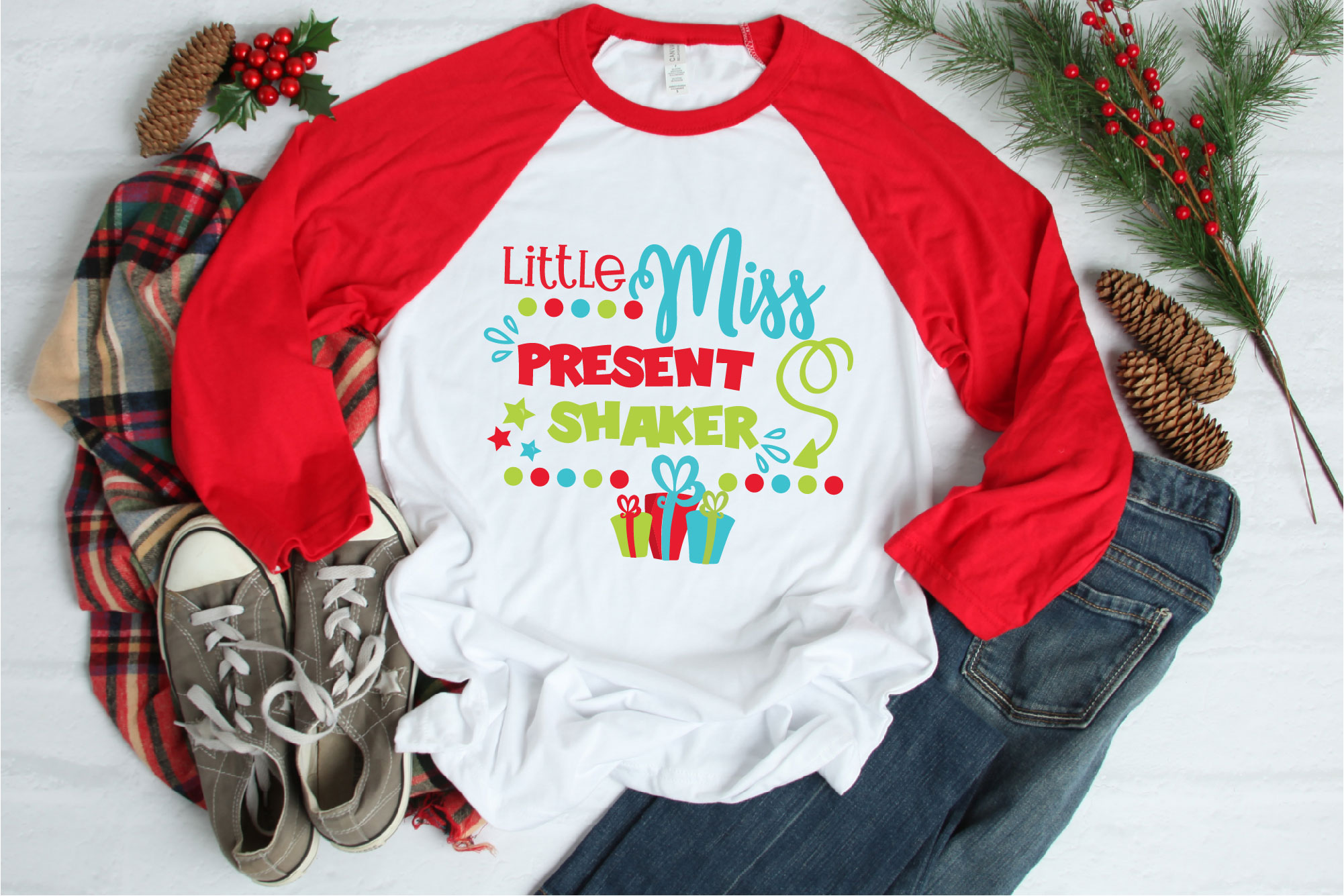 Christmas SVG, Kid's Christmas Bundle Sublimation example image 12