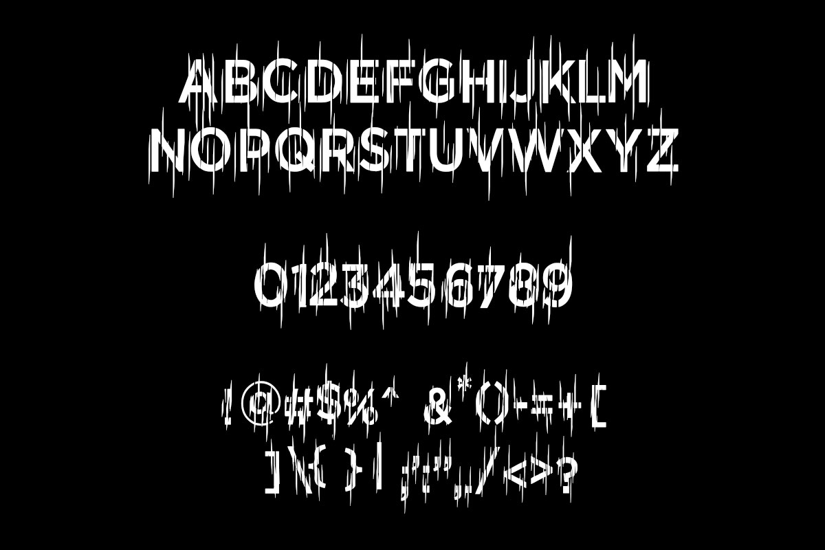 Turbiedity - Gothic Font Style example image 5