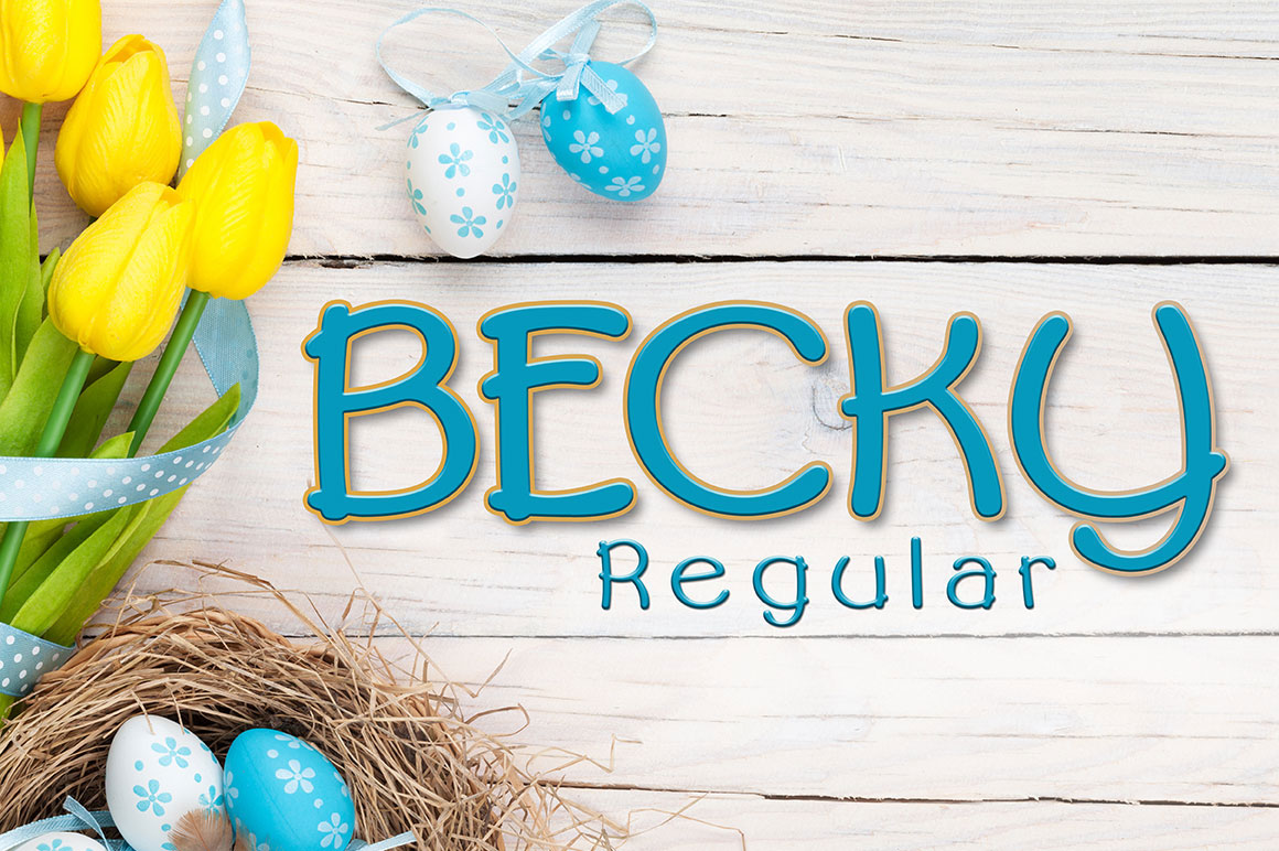 Becky Regular example image 1