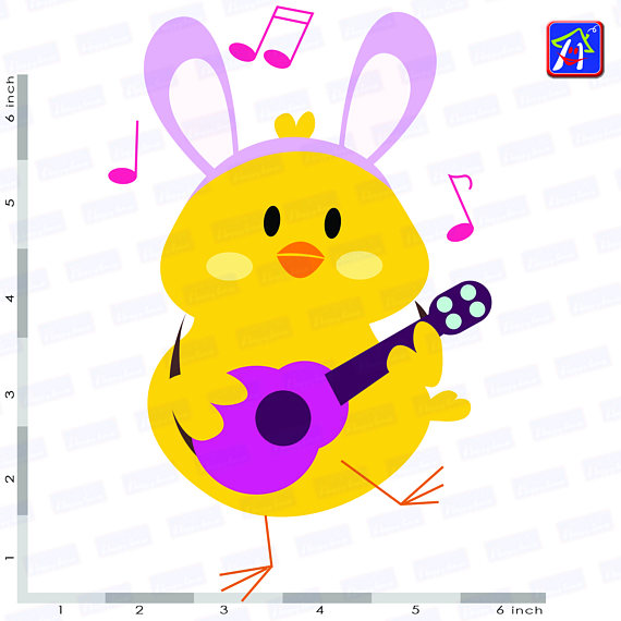 Easter chicks clip art - Easter clipart - Easter images example image 3