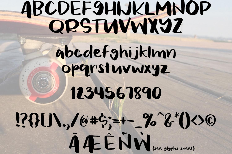 Jackson Font example image 2