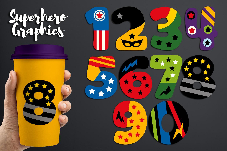 Illustrations Huge Bundle - Superhero Clip Art Graphics example image 20