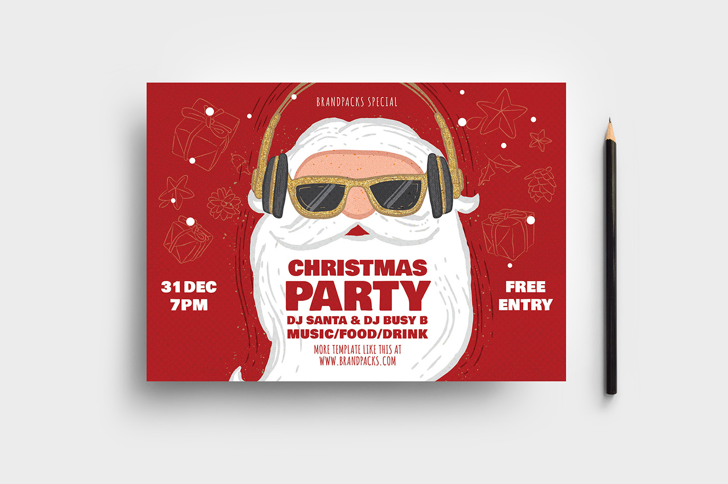 Christmas Party Flyer.Christmas Party Flyer