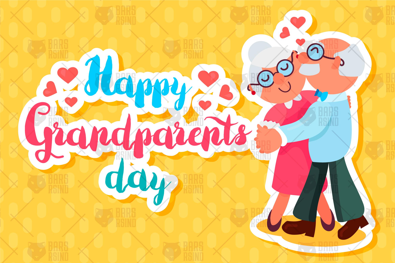 Happy Grandparents Day (34343) | Illustrations | Design ...