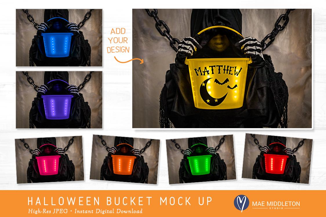 Halloween Buckets - styled photo, mock ups example image 2