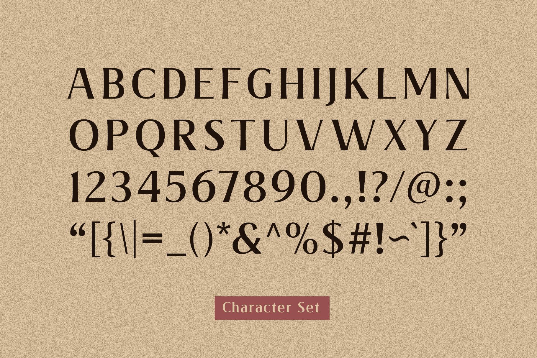 Valeria - Elegant Serif example image 2