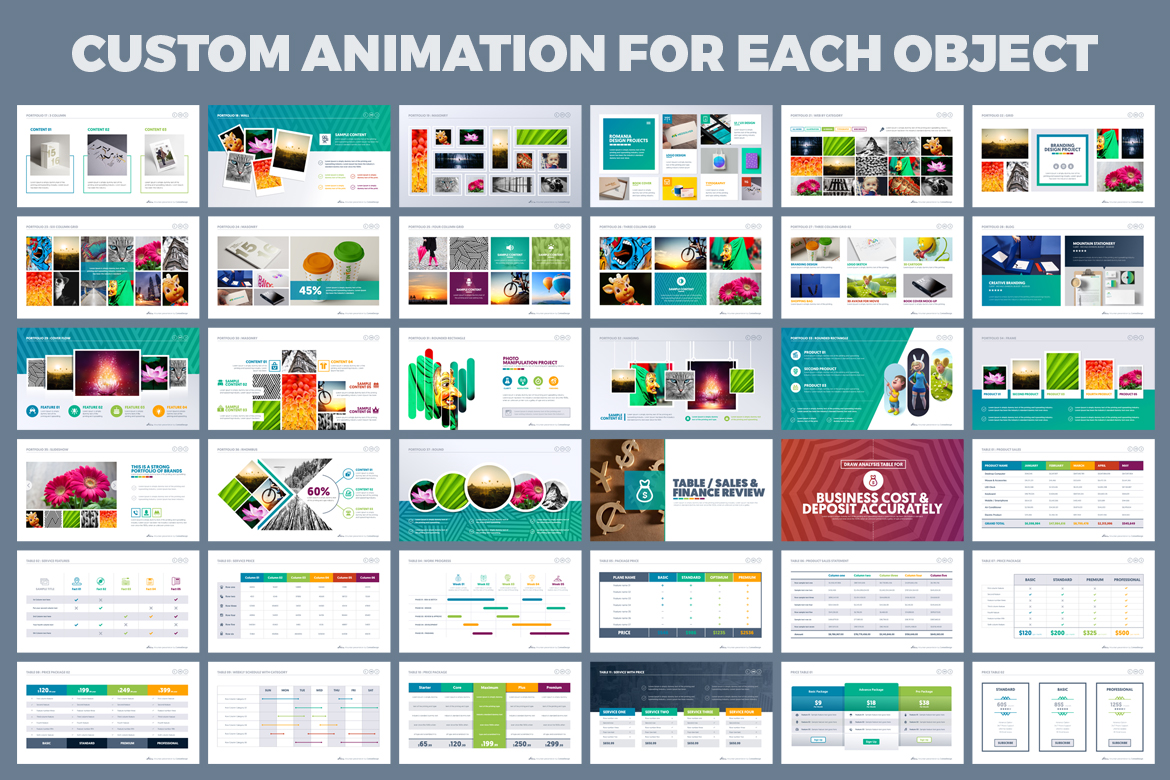 PowerPoint Presentation Template example image 9