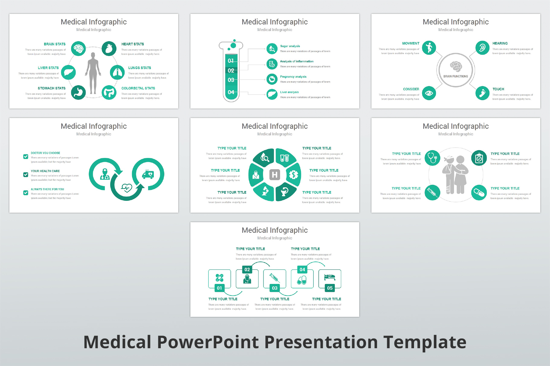Medical and Healthcare Presentation PowerPoint Template example image 11