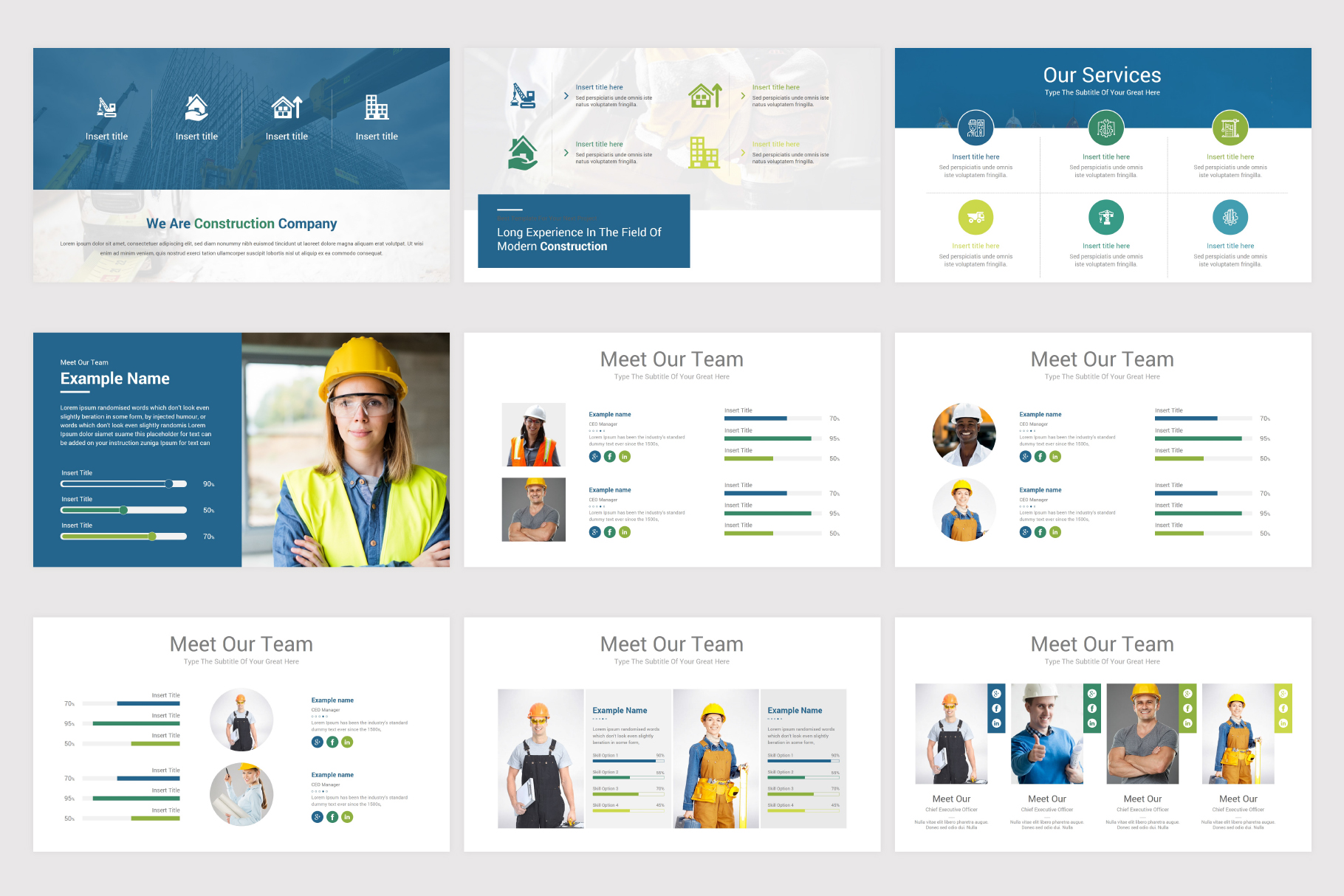 Construction Keynote Template example image 9