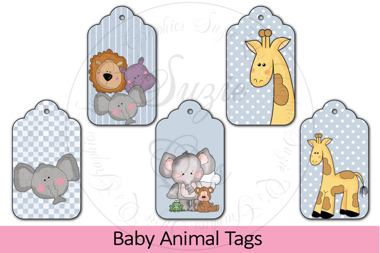 Baby Zoo Animal Tags example image 1