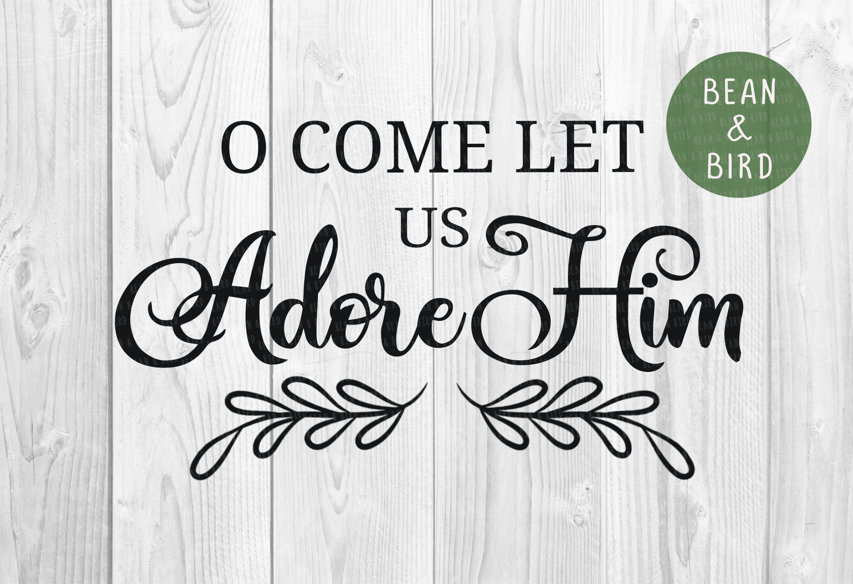 O Come let us Adore Him example image 2