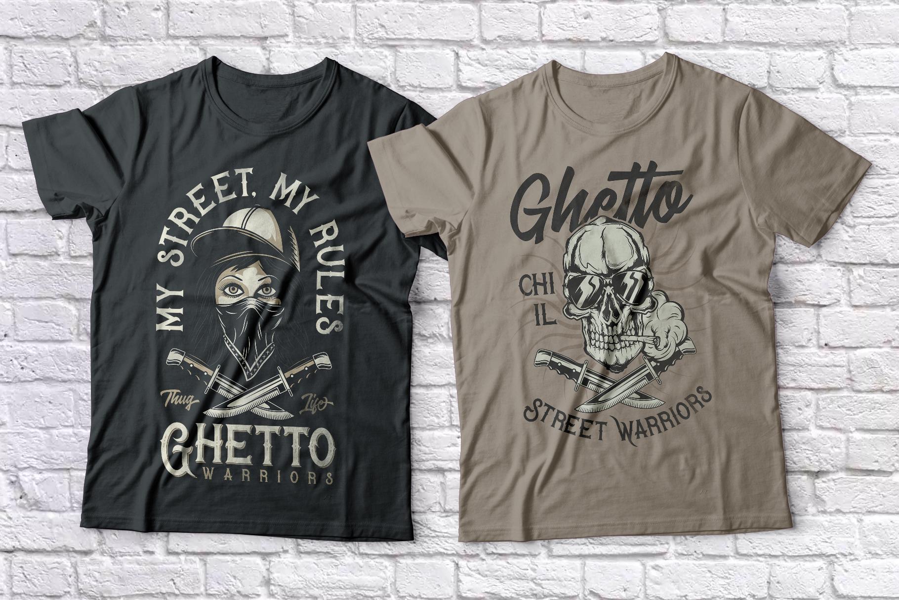 Bandidas - font and t-shirt designs example image 7