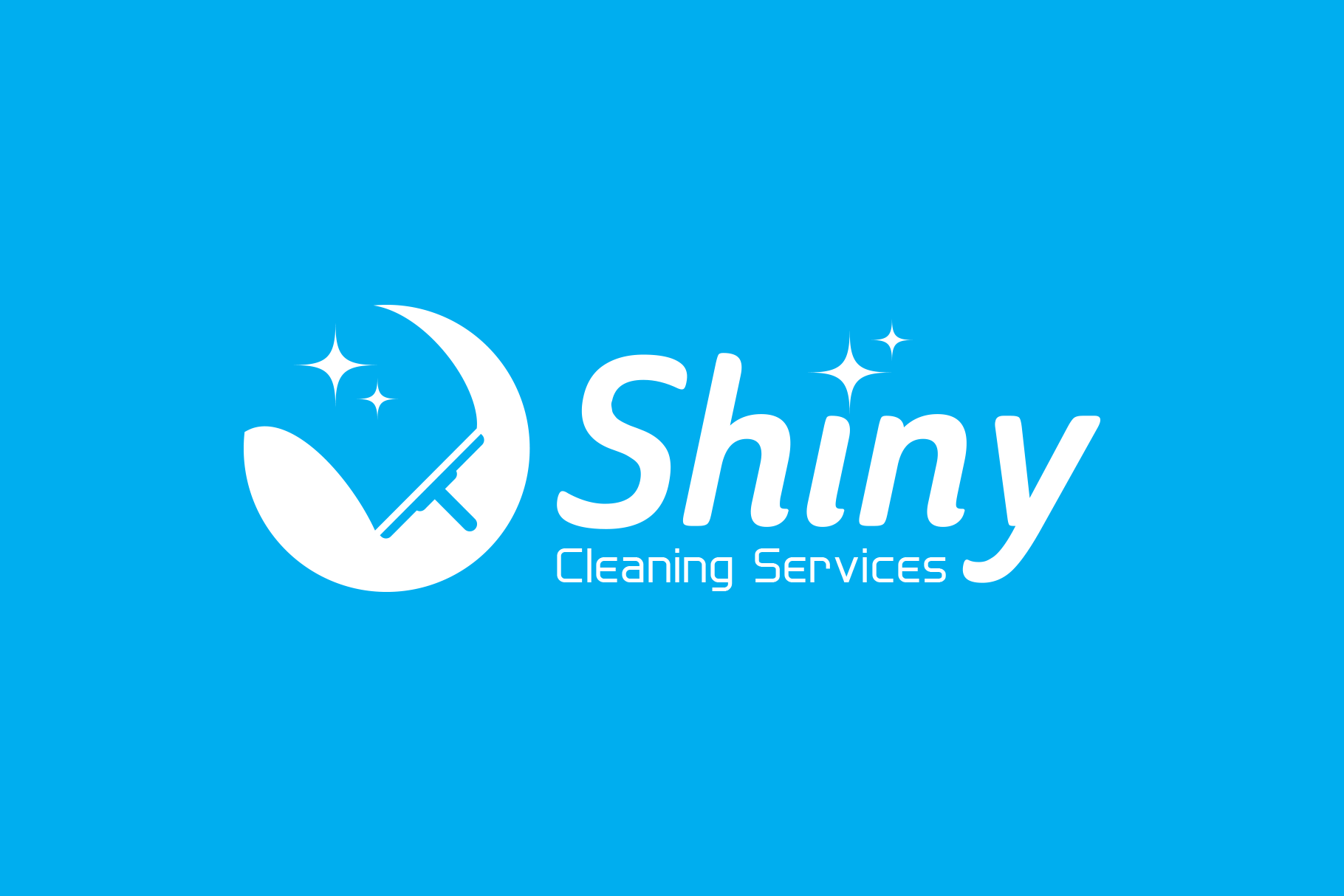 Shiny Cleaning Services Logo - SK example image 2