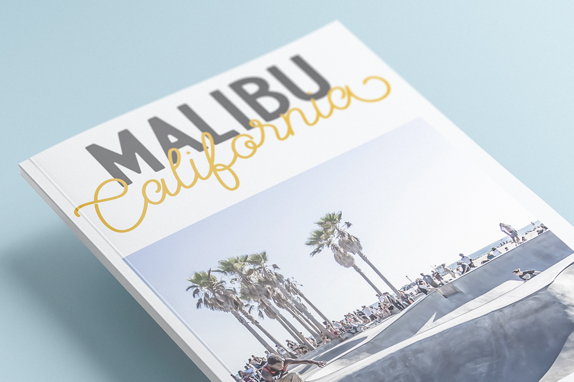 Palm Beach Font Duo example image 9