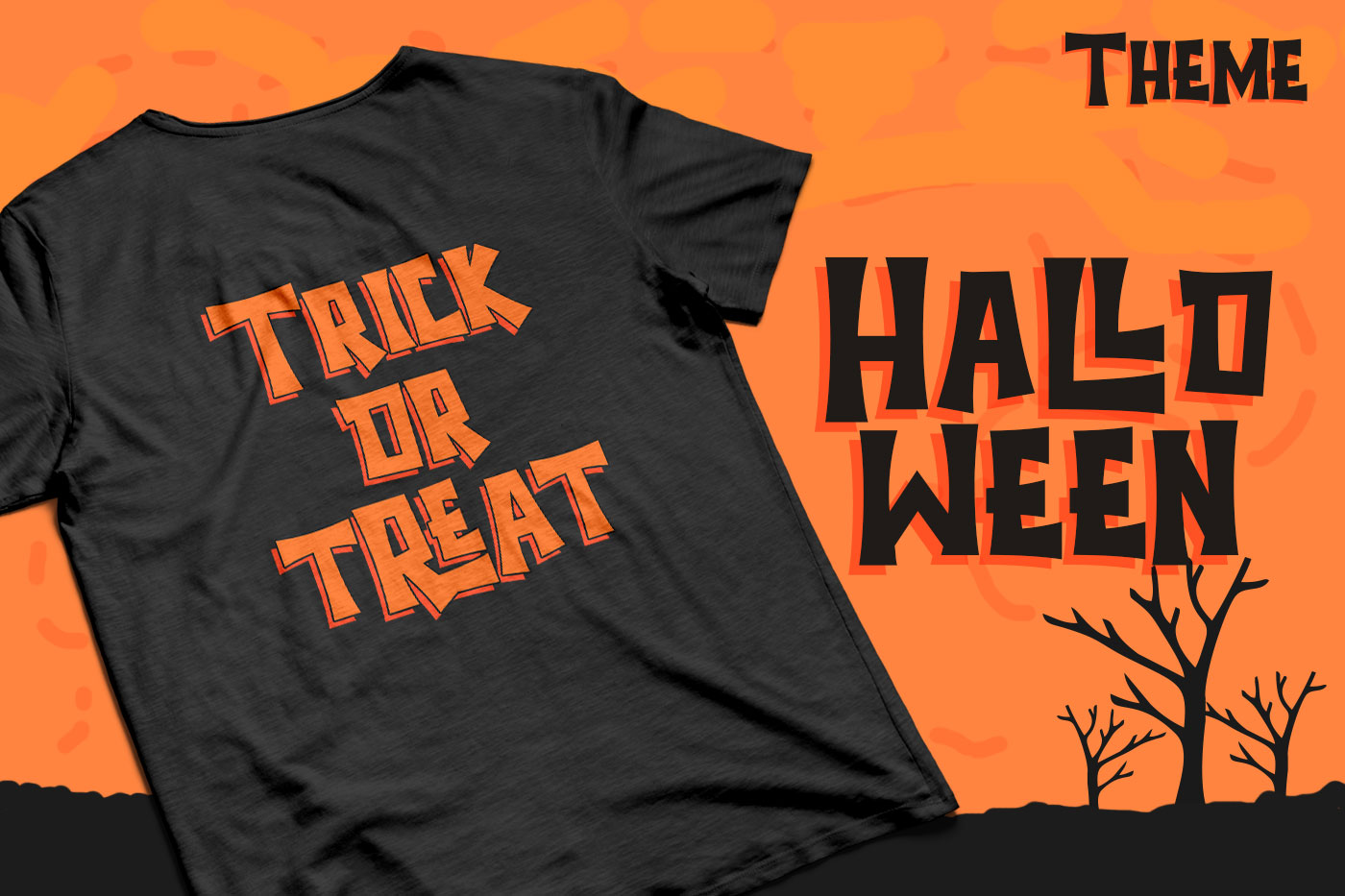 Halloween - Spooky Font example image 4