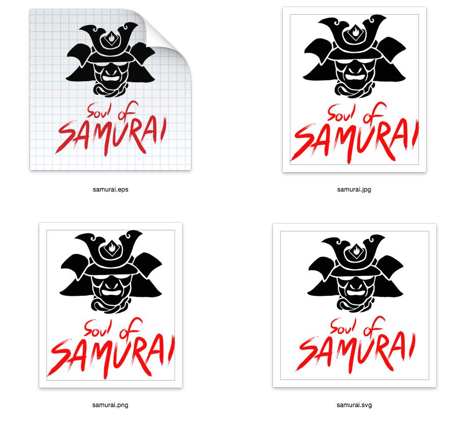 Soul of Samurai - SVG-EPS-JPG-PNG example image 2